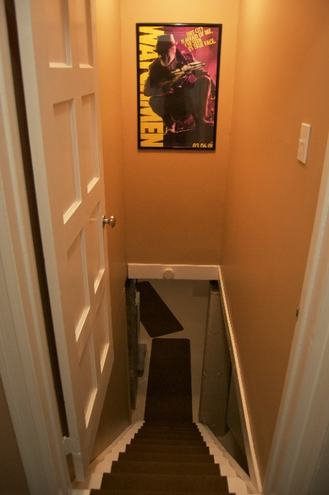 Watchmen Poster to Basement